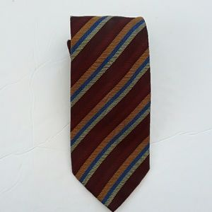 Altea expressly for John Craig Stripe Silk necktie